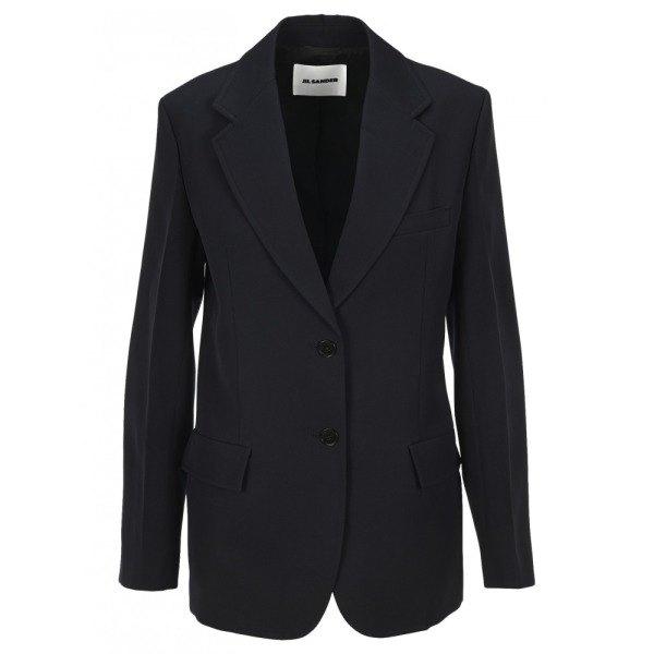 [질샌더] JIL SANDER 여성 자켓 코트 다크 블루 JSER150510200200