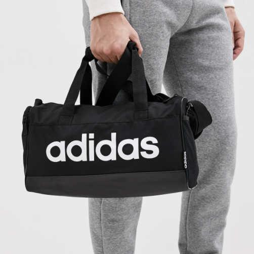 아디다스 XS 스포츠 다용도 가방, 블랙