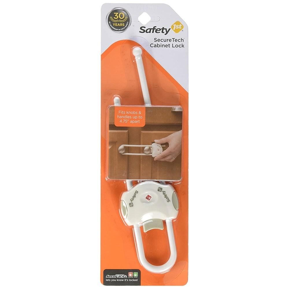 by Safety 1st 안전 1 차 SecureTech 캐비닛 잠금 유아안전잠금장치, 1개, 단일상품