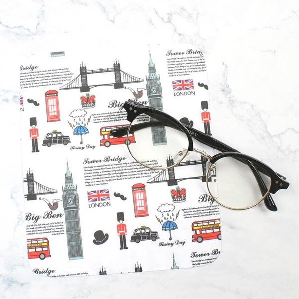 멜라크메 런던 디자인 극세사 안경닦이 50장