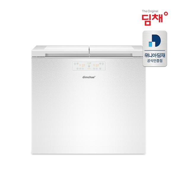 딤채 [D]딤채 21년형 뚜껑형 김치냉장고 EDL16EFWAWS [ 153L / 2룸 ], 단일상품
