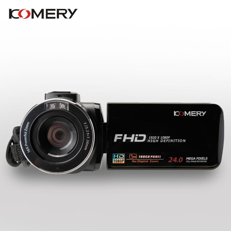 KOMERY 유튜브카메라 브이로그 1인미디어 가성비 카메라, WIFI 나이트비젼