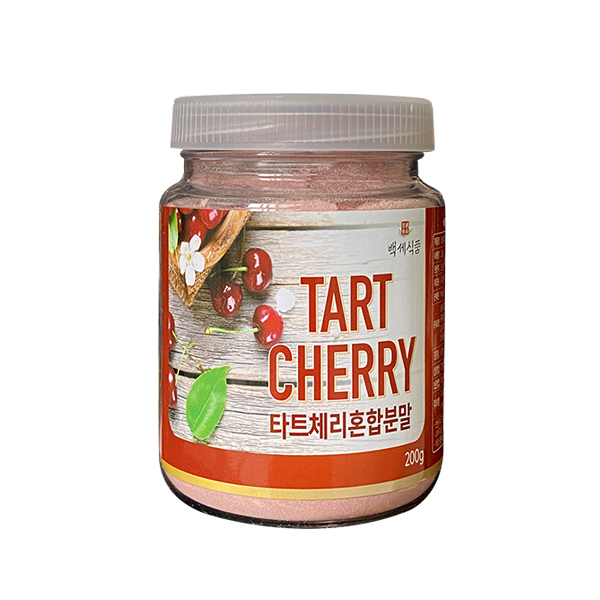 백세식품 타트체리 혼합분말 주스분말 200g 1병, 단일상품, 단일상품