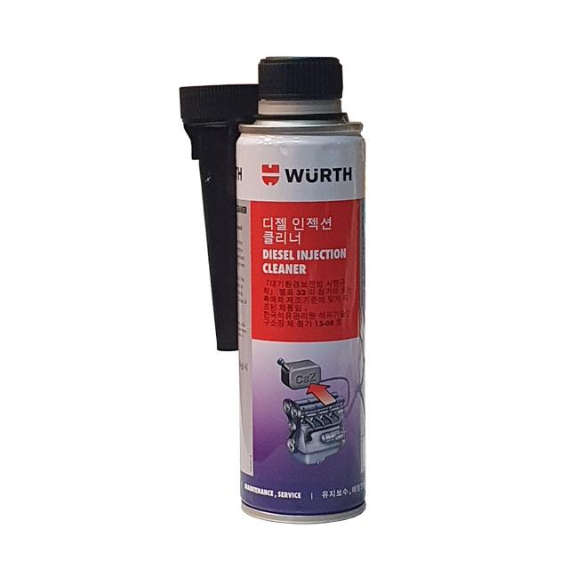 뷔르트 디젤 인젝션 클리너 300ml 수분제거 세탄가 연료첨가제, 1개, 5861-011-300