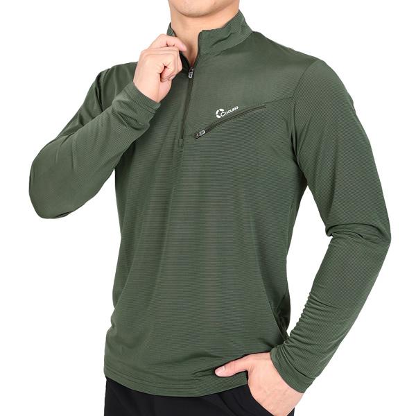 엑스트라스포티 타임킬링 남성 스트라이프 긴팔 집업 아웃도어 티셔츠(AJ92LT027M)