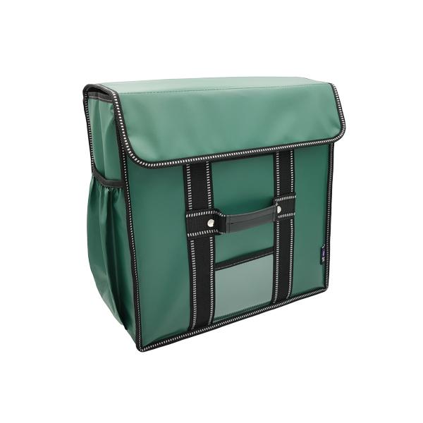 카멜레온 바스켓 15인치 피자보온가방 방수Ver_3판용 배달가방, 그린