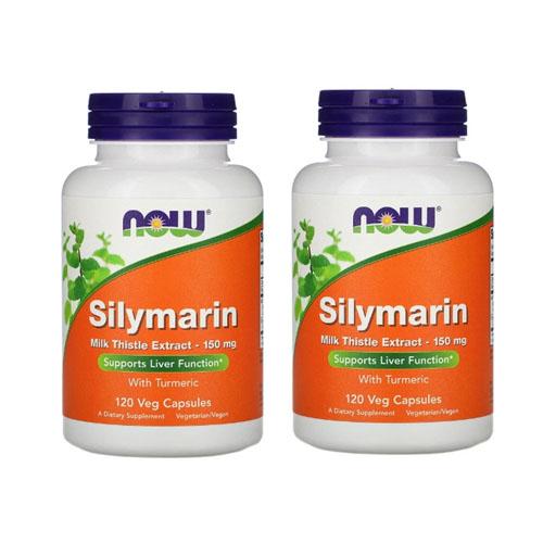나우푸드 실리마린 밀크씨슬 150 mg 120개, 2개