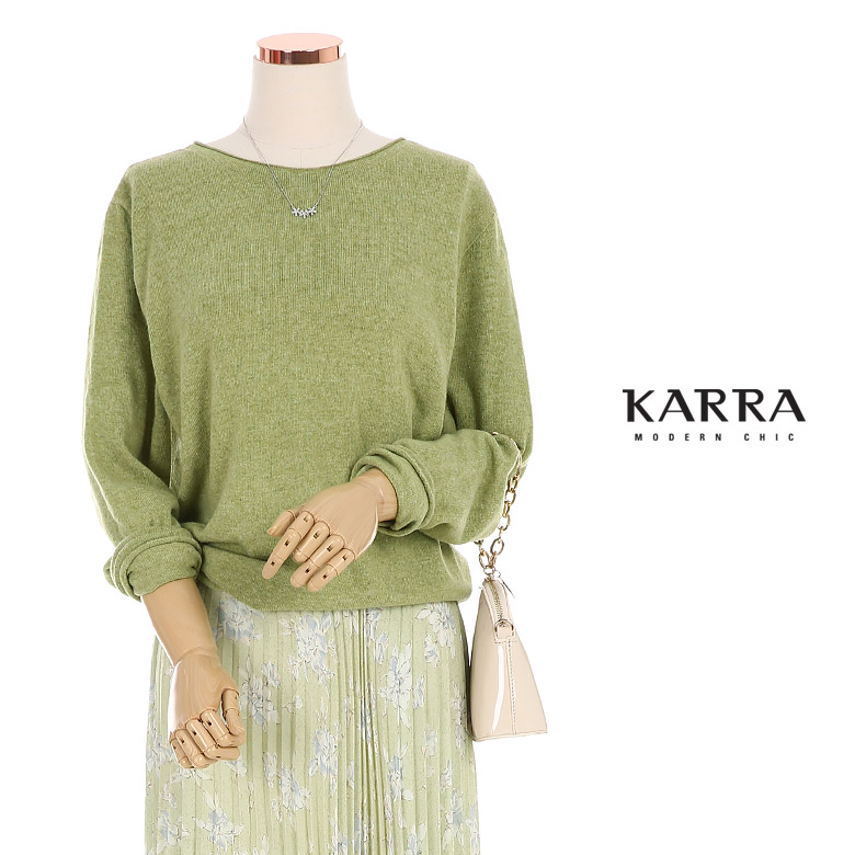 KARRA 캐시미어홀가먼트간절기니트_KB0SKN045A