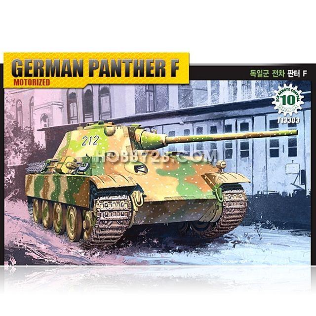 ksw68656 (13303) 1/48 독일군 전차 판터 F (모터작동)(PANTHER R/C)