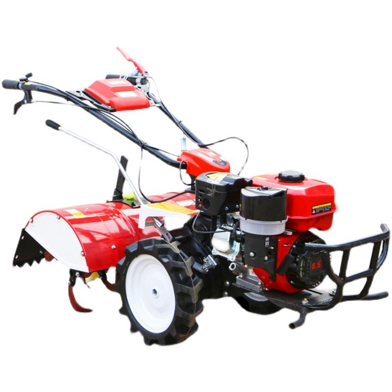 농업용 농기계 관리기 소형 트렉터 그린 밭가는 기계 미니 경운기 로타리 농업 29, 독일 기술 170 가솔린 1 액세서리 (POP 5245537896)