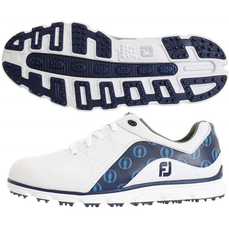 풋조이prosl - [풋조이 골프화 265미리 사이즈] 풋 조이 Foot Joy 신발 PROSL THE OPEN LTD 신발 화이트 26.5cm