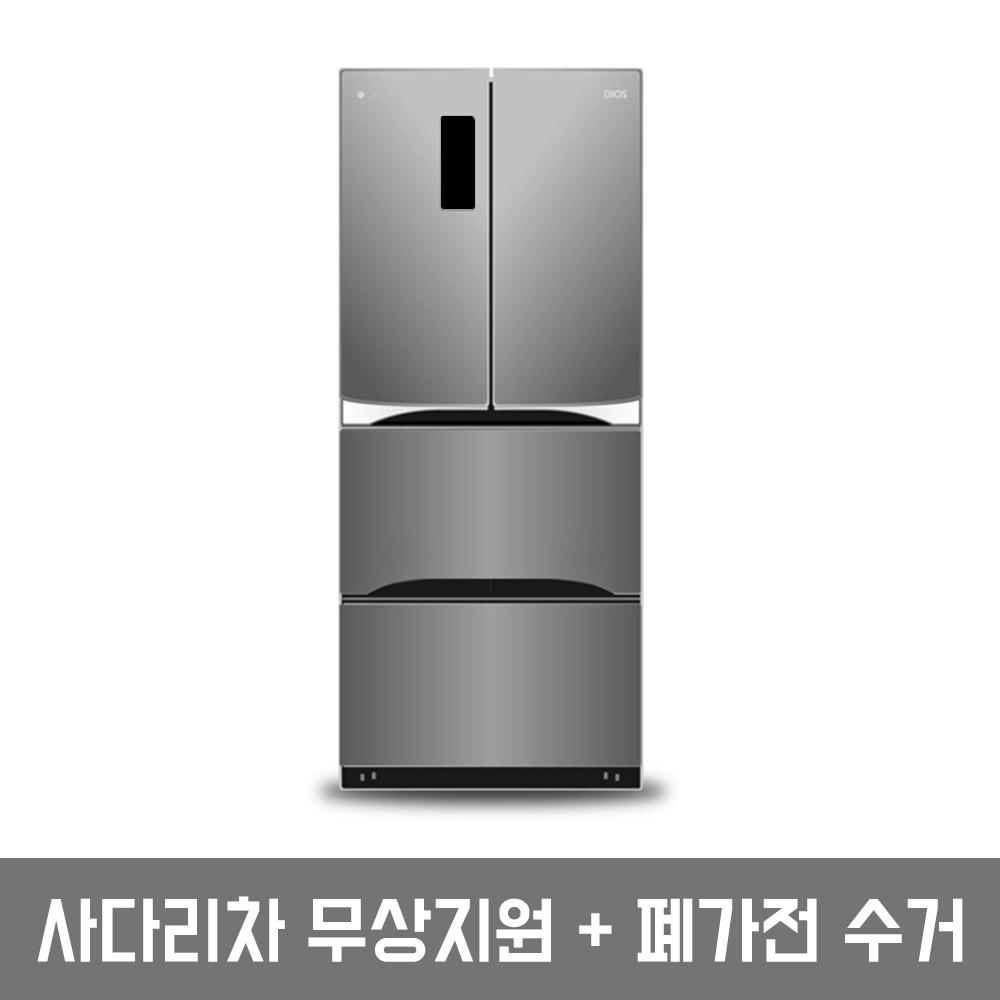 디오스 트윈스 LG 김치톡톡 김치냉장고 K419S11 402L 스탠드형