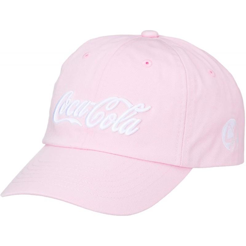 [코카콜라] 모자 로우 캡 조정자 카라 발리 풍부 COK-LCP04 핑크
