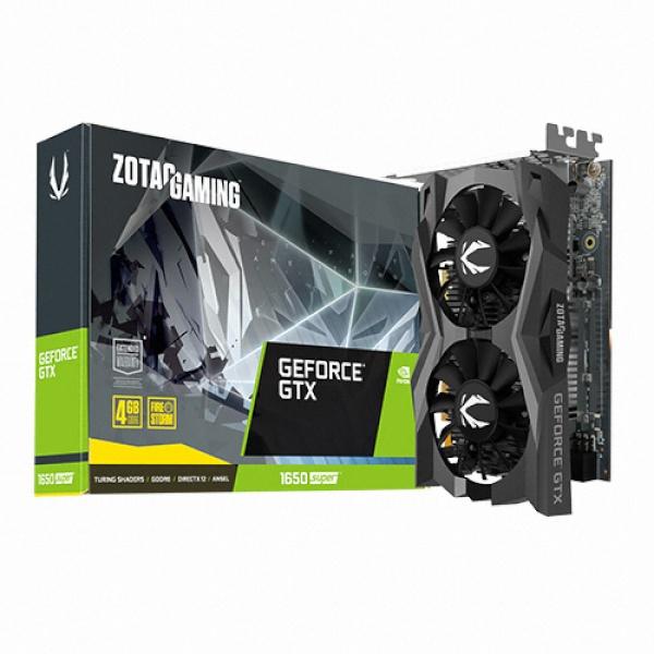 라온하우스 [ZOTAC] GeForce GTX 1650 SUPER D6 4GB GAMING TWIN 그래픽카드, 621306