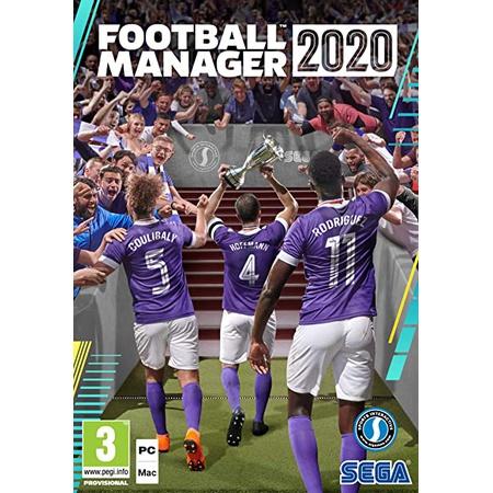 SEGA Football Manager 2020 PC DVD : Amazon.co.uk : PC 비디오 게임, 상세 설명 참조0