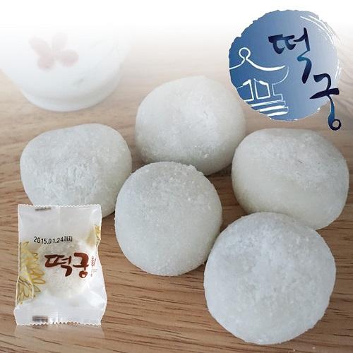 떡궁 하얀 아이스 찹쌀떡 모찌 50gX30개, 30개, 50g