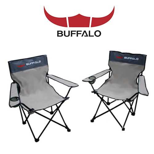 버팔로 익스텐션 캠핑체어 캠핑의자 쿠션로우 체어 의자 2종 세트