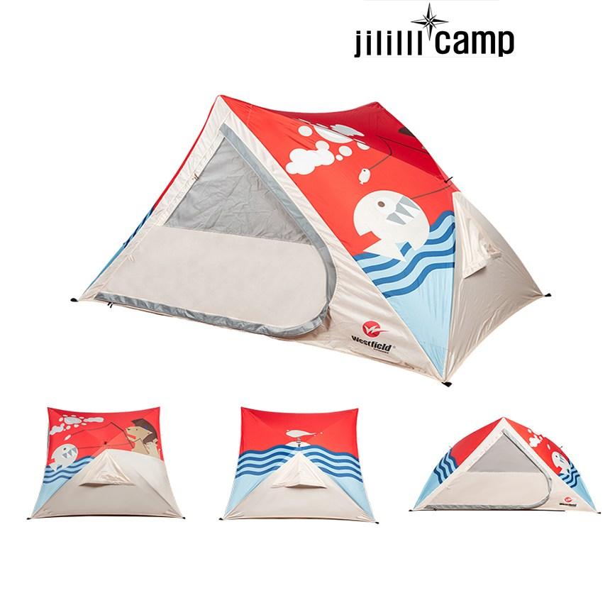 패스트캠프 보다 빠른 원터치 텐트 감성캠핑필수 아이템 초보캠핑텐트, 진그린