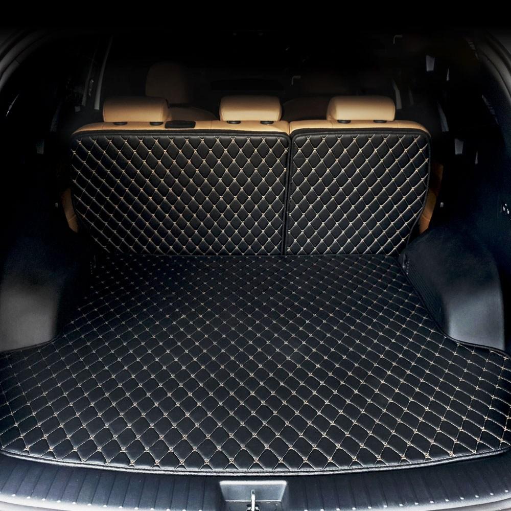 Gio 프리미엄 가죽퀼팅 트렁크매트 커버 바닥선택 가능, 신형쏘렌토MQ4 7인승(분리형), 기아 (바닥+2열등받이)