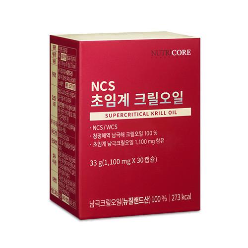 뉴트리코어 NCS/WCS 초임계 크릴오일 1박스 (남극크릴오일 100%)