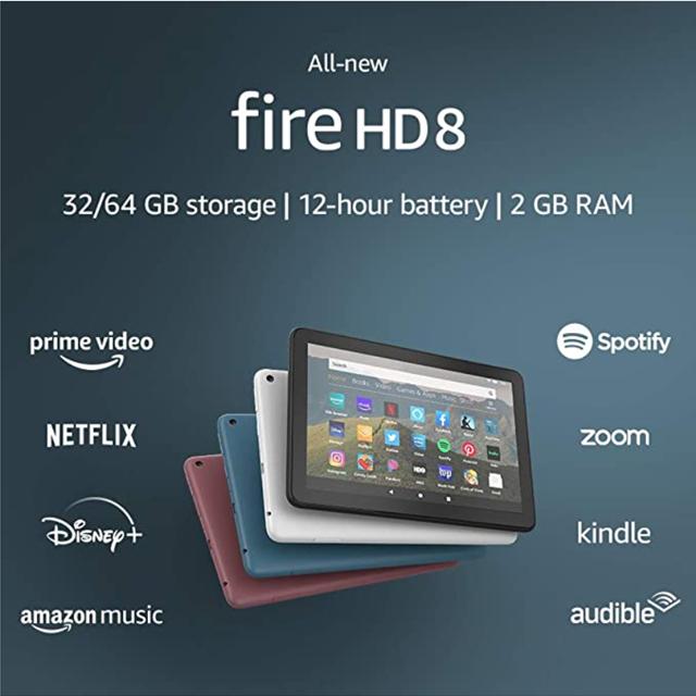 아마존 파이어 HD 8 태블릿 2020년 10세대 신제품 Amazon All-new Fire, 32G, Twilight Blue