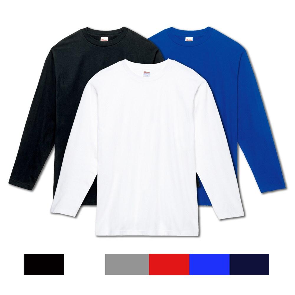 17수 베이직 라운드 긴팔 티셔츠