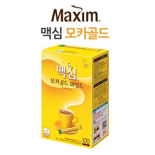 투엠샵 맥심모카골드100T 커피믹스 믹스커피, 1개