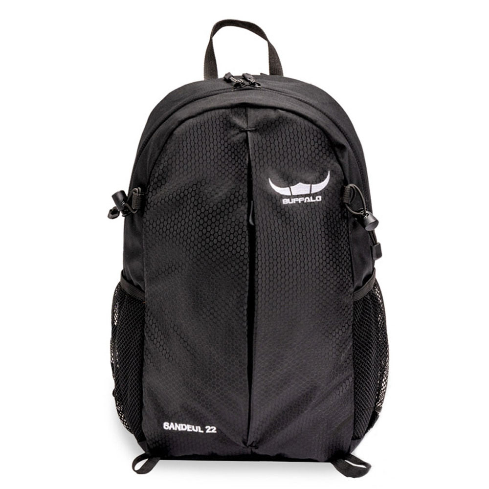 버팔로 산들배낭-22L 소형 등산 가방, 블랙