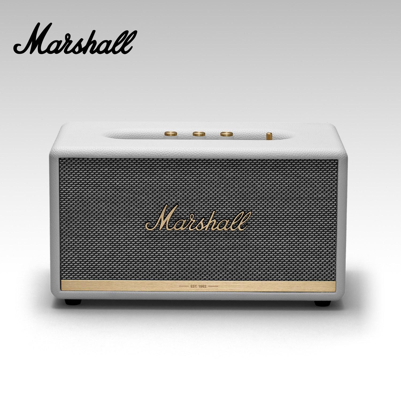 Marshall [관부가세 포함] 마샬 스탠모어2 블루투스 스피커, 화이트 WHITE