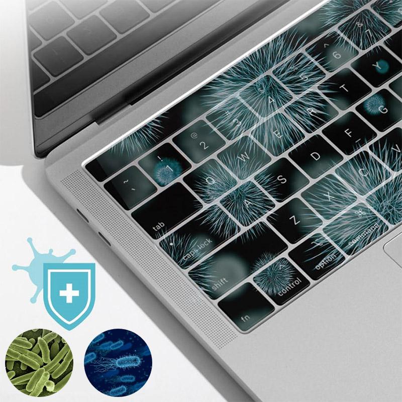 삼성 갤럭시북 플렉스 13인치 NT930QCG 시리즈용 항균 노트북 키스킨 커버, 없음, A타입-지문인식키 타공된 제품