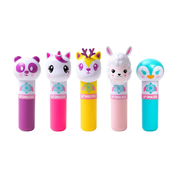 Lip Smacker Limited Edition Holiday 2019 Holiday Lippy Pal Collection 5 Count, 단일상품