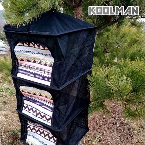KOOLMAN(쿨맨) 다용도 캠핑 식기건조망 (고품질 메쉬), 1개, 건조망 블랙 B - 패턴형