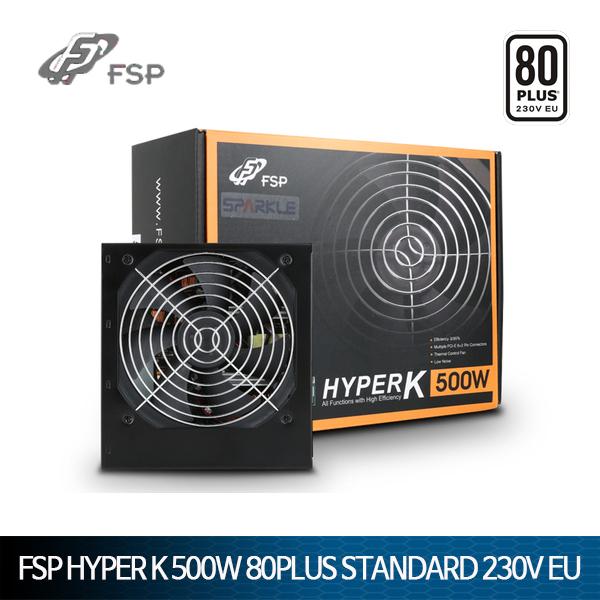 FSP HYPER K 500W 80PLUS Standard 230V EU ATX 파워
