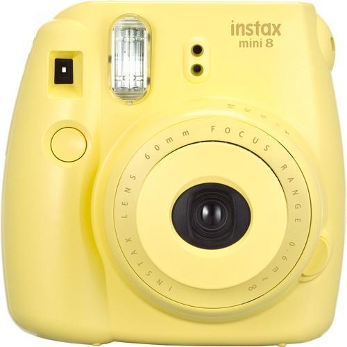 후지필름 인스탁스 미니 8 필름 카메라 옐로우, 단일상품
