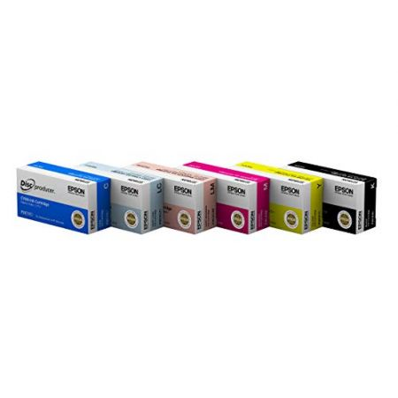 Epson DiscProducer PP-100 Ink Cartridge 6 Color Set in Retail Packaging PROD310009368, 본문참고