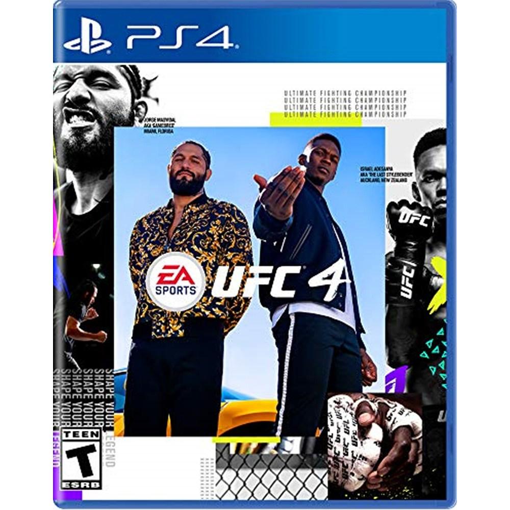 EA SPORTS UFC 4 - PS4, 단일상품