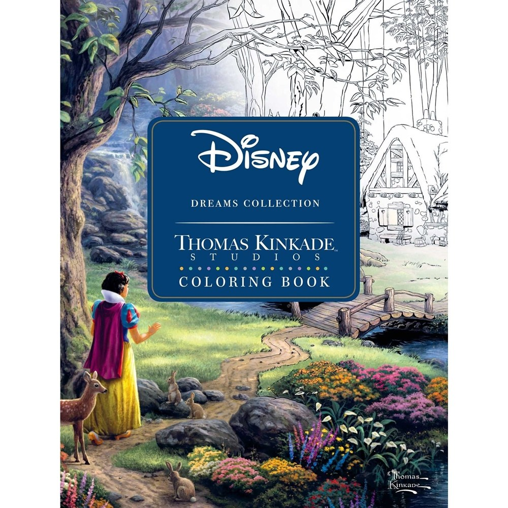 coloring books 디즈니 동화 컬러링 북 128쪽