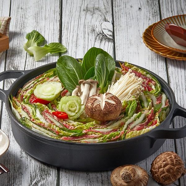 [담짜몰]소고기와 야채품은 밀푀유나베 밀키트(3인분), 단품
