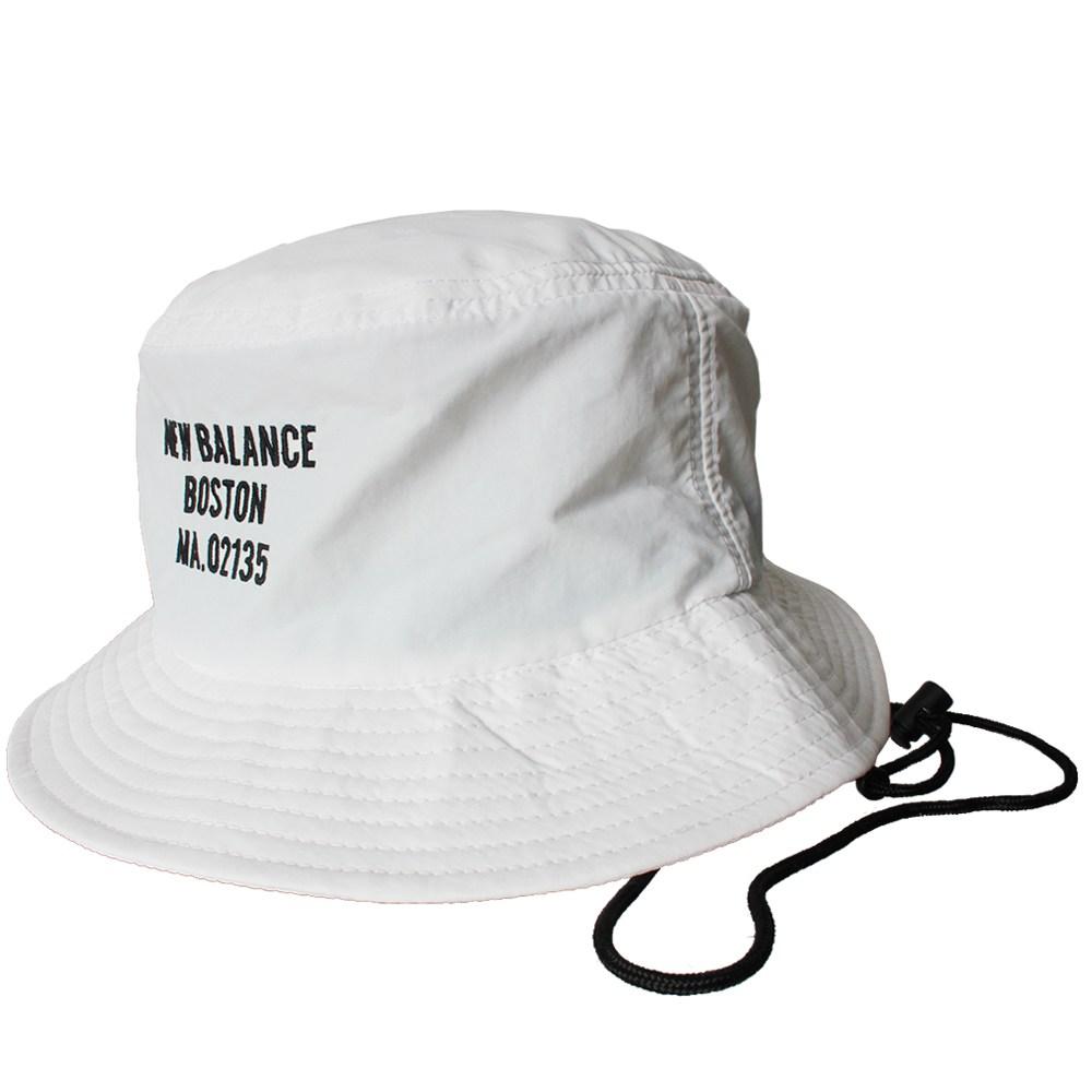 뉴발란스 패커블 버킷햇 NBGD8SM107-10 화이트 벙거지 모자