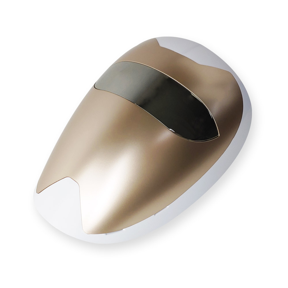 퓨리스킨 LED 마스크 피부마사지기, 골드