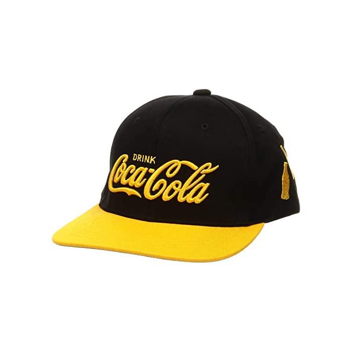 COCA-COLA (코카콜라) [코카콜라] 모자 BB 캡 단골 카라 발리 COK-CP10 블랙 × 에로