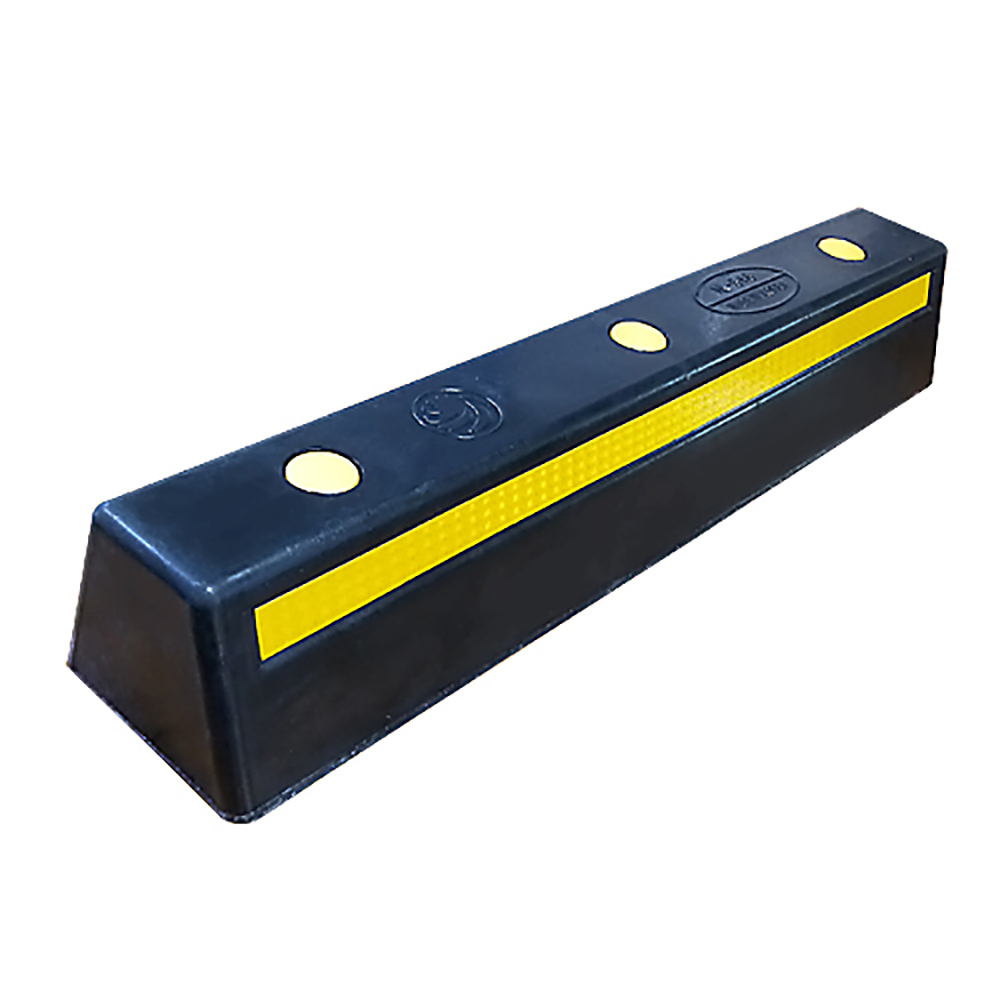 우리안전 카스토퍼 HA516 고무카스토퍼 카스톱바 주차블럭 주차방지턱, 1개