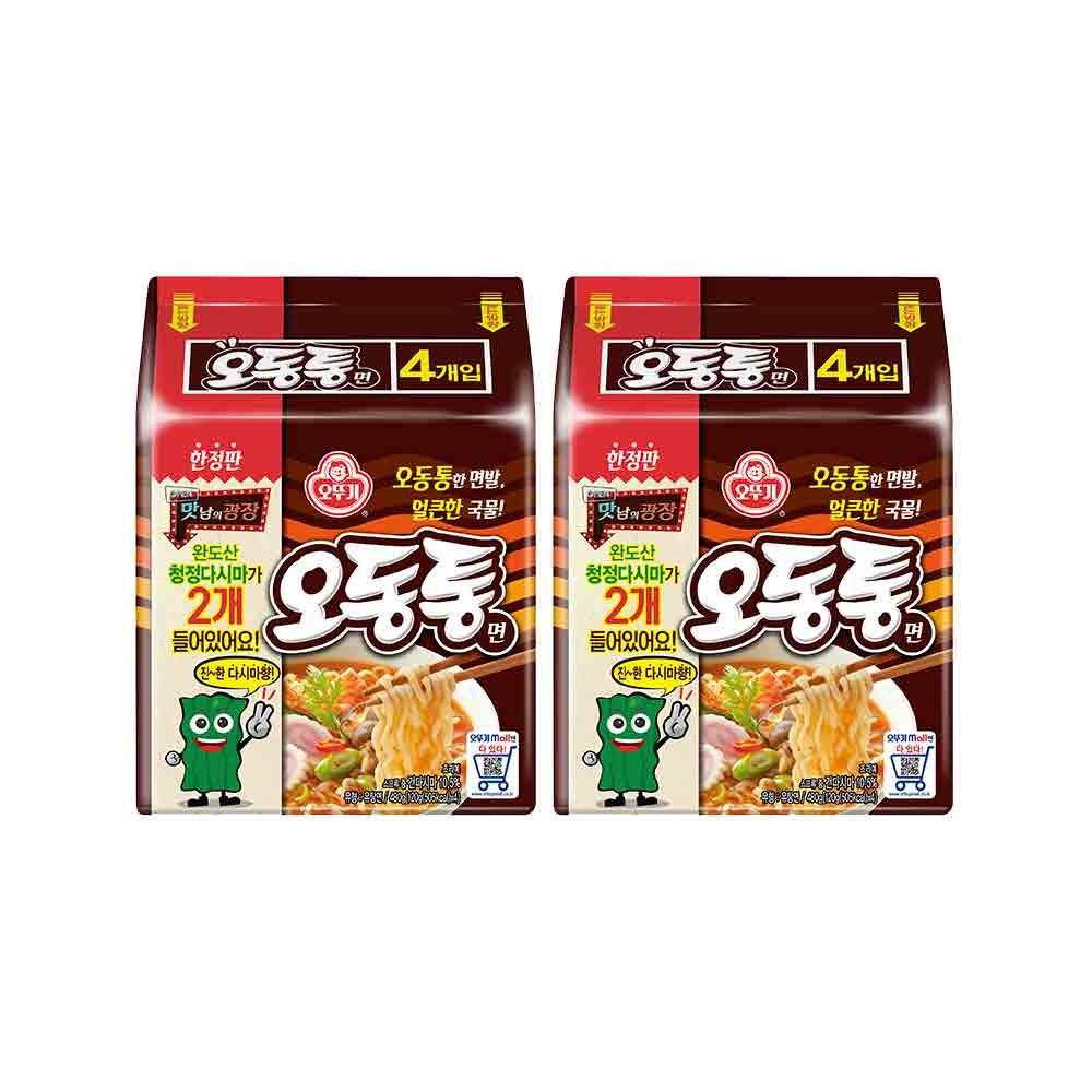오뚜기 오동통면(다시마 2개), 8봉