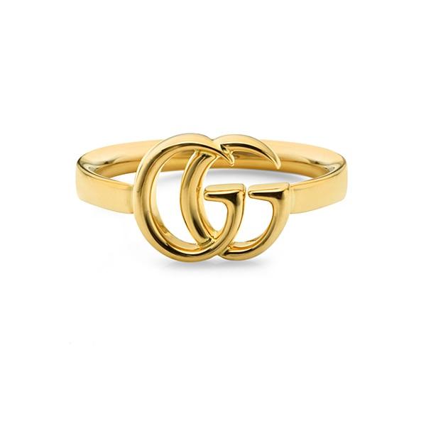 구찌 쥬얼리 GUCCI YBC525690001 (525690) / RUNNING G 18K 옐로우 골드 반지