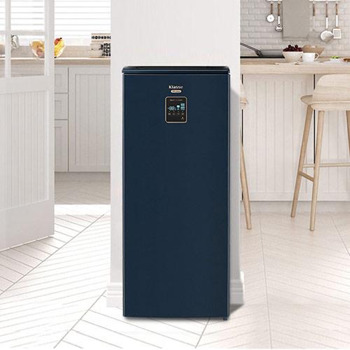 [에너지 소비효율 1등급] 클라쎄 김치냉장고 102L 슬레이트 블루 WRKQ12DPSBP1