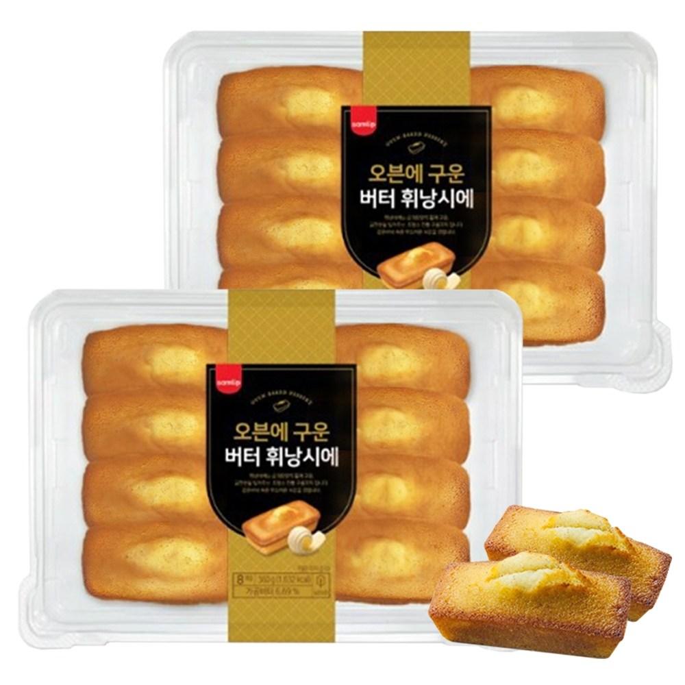 플랜비 삼립 오븐에 구운 버터 휘낭시에 360g, 2개