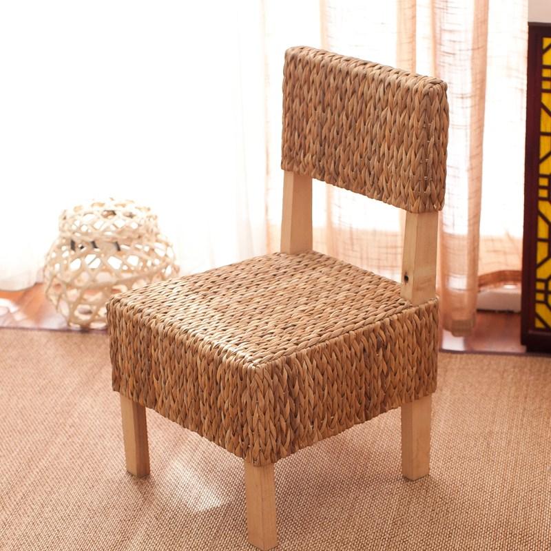 라탄의자 미니 원형라탄의자 라탄스툴 밀짚 등나무 인테리어의자, 선택2