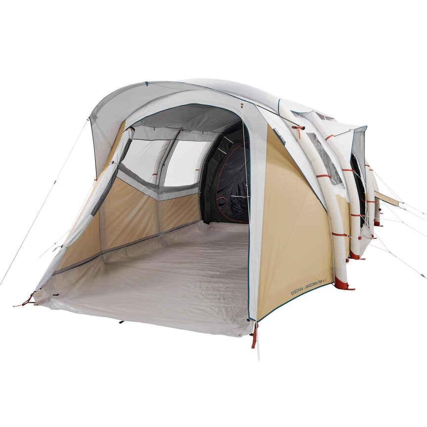 독일 직수입 Quechua (케추아)패밀리 에어 텐트 세컨즈 6.3 프레시 앤 블랙 (6 인용)