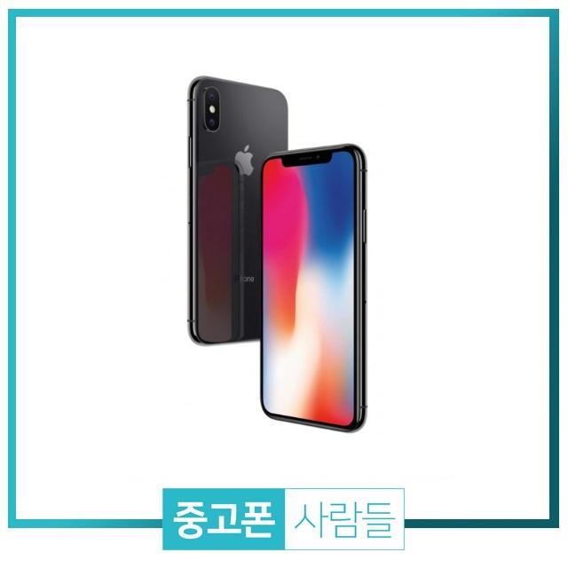 애플 아이폰X 64G 256G 공기계 중고폰 S급, 그레이, 64G A급