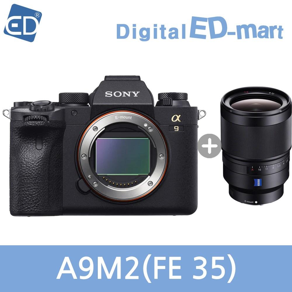 소니 A9M2 미러리스카메라, 03 소니정품A9M2 / FE 35mm F1.4 ZA 호야필터액정필름